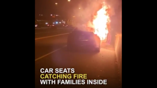 Families say car seats are catching fire, and they all have one thing in common