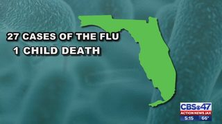 Flu activity is on the rise in Florida; outbreak in Jacksonville area