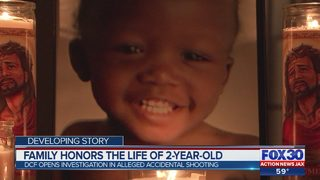 Family honors the life of 2-year-old