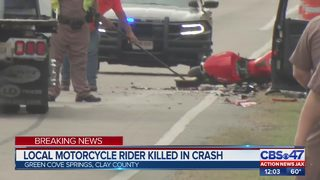 Local motorcyclist killed in Green Cove Springs crash