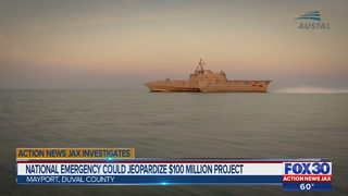 National emergency could jeopardize $100 million military project in Mayport
