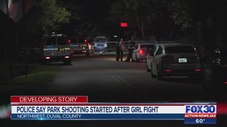 Police say fatal park shooting started after girl fight