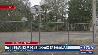 Teen & man killed in shooting at Jacksonville city park