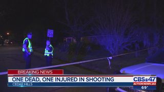 One dead, one injured in shooting