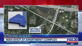 Man shot at Jacksonville apartment complex