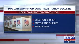 Two days away from voter registration deadline