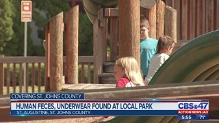 Parents upset about nasty conditions of a downtown St. Augustine park