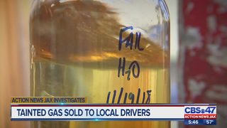 Action News Jax Investigates: Tainted gas sold to Jacksonville-area drivers