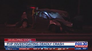 Troopers investigating two deadly crashes in Jacksonville