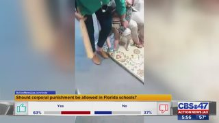 New bill aims to ban spanking kids in Florida schools