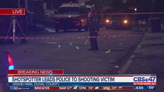 ShotSpotter leads police to shooting victim in Jacksonville