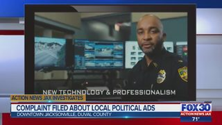 Complaint filed about Jacksonville political ads