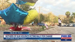 Mothers of gun violence victims rally for change