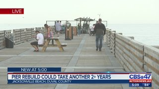 Jacksonville Beach Pier reconstruction could take another 2+ years