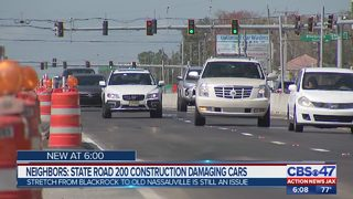 Neighbors: State Road 200 construction damaging cars