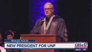 The University of North Florida has a new president