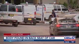 Boyfriend arrested after woman found dead in backseat of car, Jacksonville police say