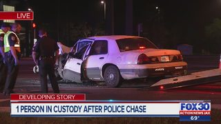 Armed carjacking leads to pursuit with Clay County sheriff