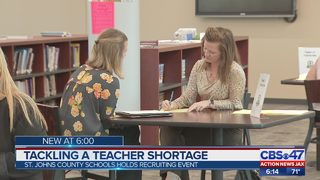 St. Johns County getting a head start on hiring teachers for fall
