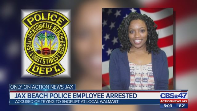 Jacksonville Beach Police employee fired after shoplifting