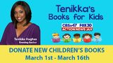 Jacksonville, St. Johns and Nassau: Help us collect books for Tenikka's Books for Kids
