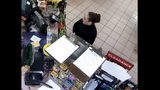 Kimberly Kessler -- the woman suspected of killing Nassau County mom Joleen Cummings -- is seen on camera at Flash Foods just after 9 p.m. on May 12, 2018 -- the day Cummings was last seen. Scratches can be seen on the side of Kessler's face.