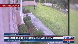 Jacksonville City Council candidate says man left dog feces at his front door
