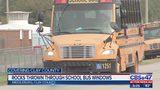 Rocks thrown though Clay County school bus windows