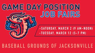 Jumbo Shrimp Ballpark job fairs