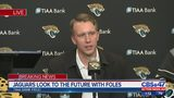 Nick Foles introduced as Jacksonville Jaguars new quarterback