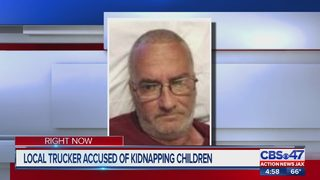 Report: Jacksonville truck driver arrested, accused of kidnapping two Texas children