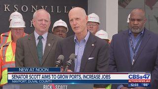 Sen. Rick Scott pushes for $140M in funding for ports