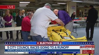 5 Jacksonville city council races going to a runoff