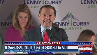 Jacksonville Curry re-elected to 4 more years