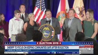 Jacksonville sheriff to focus on keeping communities after re-election