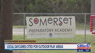 Local child care center has inspection violations that may pose a threat to children