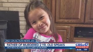 Father of murdered 2 year old speaks out