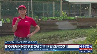 Jacksonville author opens up about experience with alcoholism
