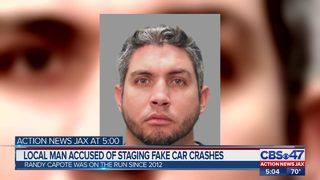 Jacksonville man arrested for fake crash investigation after hiding in Cuba for 7 years