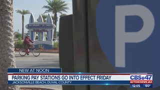 Parking stations go into effect Friday at Jacksonville Beach