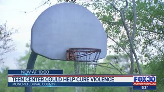 Teen center could help cure violence
