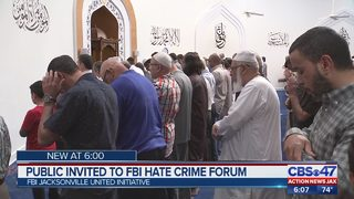 Public invited to Jacksonville FBI hate crime forum