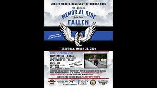 Adamec Harley-Davidson first annual Memorial Ride for the Fallen