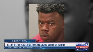 Alleged drug dealer charged with murder