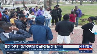Edwards Waters College in Jacksonville among HBCUs seeing growth