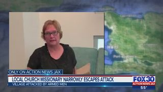 Jacksonville church missionary narrowly escapes attack