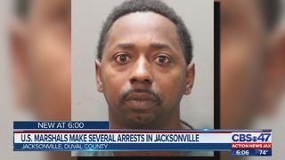 U.S. Marshals make several arrests in Jacksonville