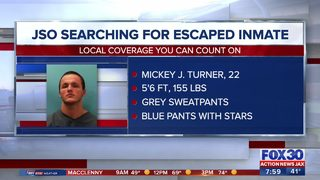 JSO searching for escaped inmate