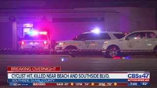 JSO: Bicyclist hit, killed near Beach and Southside Blvd.