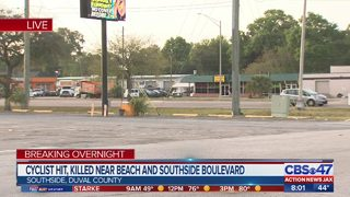 Officers search for surveillance video in hit and run on Beach Blvd.